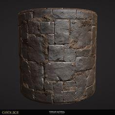 ArtStation - Stone Tile, Zahar Scherbov
