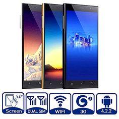 Unlocked 5,0 Pollici Pieno HD Android 4.2 3G Smartphone Dual Core MTK6572 Dual SIM Dual Standby Telefono Mobile del Cellulare di GPS WIFI Cellulari Cinesi (Nero) CTC http://www.amazon.it/dp/B00QLEDLJG/ref=cm_sw_r_pi_dp_Ch.Mub0YN8RAW