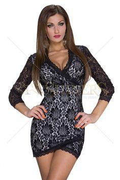 Unlimited Mystery Black Dress