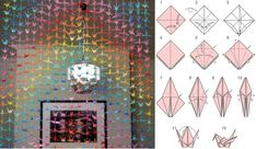 DIY Origami Crane Mobile Tutorial