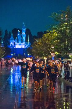 "Special Olympics World Games ""Flame of Hope"" Journeys Through Disneyland Resort"