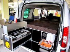 Resultado de imagem para minivan camping conversion