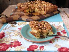 Maple-Walnut Apple Cake