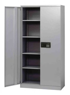 Keep Items Secure At Home Or Office With This Sandusky Steel Quick Embly Keyless Electronic Coded Storage Cabinet In Black