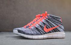 "Nike WMNS Free Flyknit Chukka ""Bright Mango"" - EU Kicks: Sneaker Magazine"