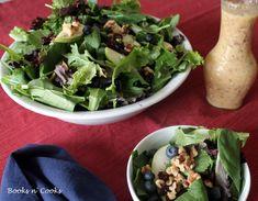 Salad with Pear Vinaigrette
