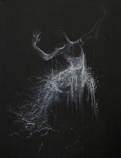 Black White Canvas Art - Giclee art print poster of original ballerina painting by Yuri Pysar by Pysar on Etsy https://www.etsy.com/listing/156517795/black-white-canvas-art-giclee-art-print