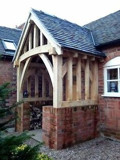 OAK PORCH, garage, pergola, made to order | eBay