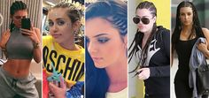 It's a braided beauty battle between the Kardashian-Jenner's and Miley Cyrus' cornrow hairstyles. Kylie Jenner is the latest celeb to try out the bold look, and we want to know who gets your vote for best braids?