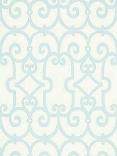 DecoratorsBest - Detail1 - Sch 5005051 - Manor Gate - Mineral - Wallpaper - - DecoratorsBest