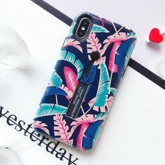 EKONEDA Finger Ring Case For iPhone 8 Plus Case Floral Leaf Hidden Stand Cover For iPhone XR Case For iPhone X XS Max 6S 7 Plus Outfit Accessories From Touchy Style. | Free International Shipping. Iphone 7 Phone Cases, Cute Phone Cases, Iphone 11, Iphone 8 Plus, Cartoon Rose, Coque Smartphone, 7 Plus, Iphone Models, Ring Finger