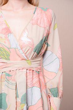 """Romance"" Wrap Maxi Dress"
