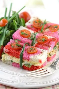 Romantic Egg Salad Bundles for Valentine's Day! So pretty!!!