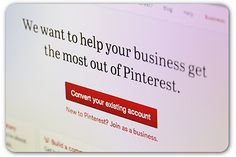 Pinterest launches business accounts