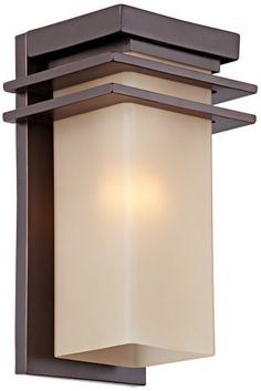 "Bronze and Opal 15"" High Rectangular Outdoor Wall Light by Universal Lighting and Decor. $229.99. The bold look of this fantastic transitional style outdoor wall light makes it a perfect choice for any home. Rectangle shape with decorative accent trim, finished in warm oil-rubbed bronze, and with a gorgeous opal etched glass shade. Wonderful for a porch or along the side of a house where some extra illumination is needed.. Save 33% Off!"