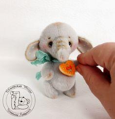 Ташкины мишки Teddy Bears: Слоник Якоб