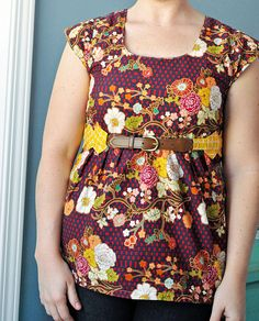 Washi Tunic by LRstitched, via Flickr