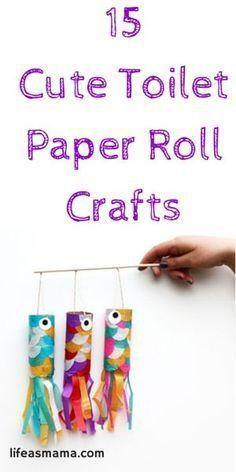 Paper Roll Fish   DIY Crafts #diycrafts