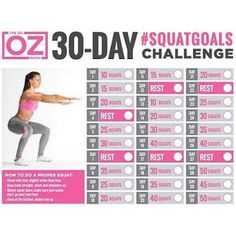 my weightloss journey: Dr Oz's 30 Day Squat Challenge healthandfitnessn… my weightloss journey: Dr Oz's 30 Day Squat Challenge healthandfitnessn… – 30 Days Workout Challenge Squat And Ab Challenge, 30 Day Challenge, Workout Challenge, Squat Challenge For Beginners, Thigh Challenge, Fitness Workouts, Fitness Herausforderungen, Song Workouts, Cheer Workouts