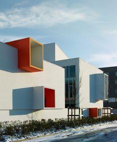 Josephine Baker School in La Courneuve, by Dominique Coulon et associés Architects