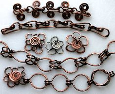 Handmade Chain #chains #links #wire