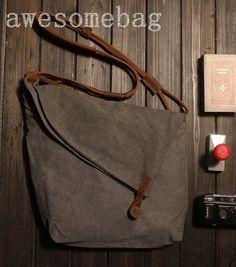 Uma bolsa com fechamento charmoso. | Arte com Tecidos