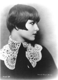 I thought my haircut was modern but Louise Brooks  in 1933 has the same cut.     ~photo byEdward Thayer Monroe
