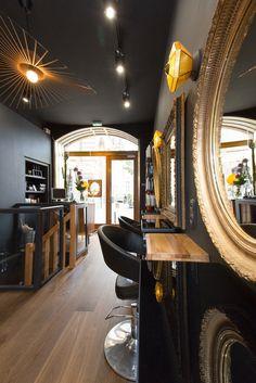 Coiffure 95 saint germain cosy alliant le moderne au for Miroir coiffure st augustin