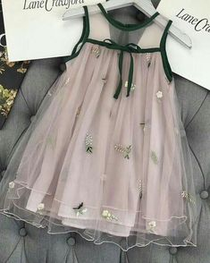 Little Girl Dresses Dresses Kids Girl, Cute Dresses, Girl Outfits, Flower Girl Dresses, Fashion Outfits, Little Girl Fashion, Kids Fashion, Baby Dress Design, Kids Frocks