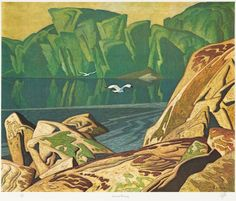 Casson, Summer Morning, Canadian Group of Seven. Tom Thomson, Emily Carr, Canadian Painters, Canadian Artists, Landscape Art, Landscape Paintings, Landscapes, Group Of Seven Artists, Ontario