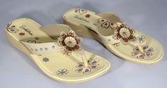 8f3cf5b305c Ladies Low Wedge Heel Comfort Walking Fit Flip Flops Fitness Toning Sandals  Shoe  Sandalhouse