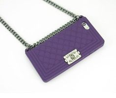 2014 New Arrival Luxury Lanyards Soft Chain Cellphone Bag Case for Iphone 5 5s 4 4s Channel Handbag Case:Amazon:Cell Phones & Accessories