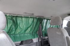 simple inexpensive roll up bus rv curtains rv caravan. Black Bedroom Furniture Sets. Home Design Ideas