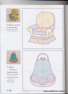 Archivo de álbumes Applique Patterns, Applique Quilts, Applique Designs, Craft Patterns, Quilt Patterns, Vogel Quilt, Quiet Book Templates, Bird Quilt, Felt Quiet Books
