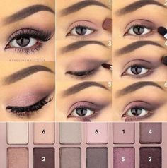 The Maybelline Blushed Nudes Palette is one of the best eyeshadow palettes!