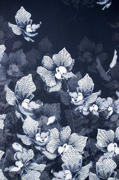 Floral pattern design by designer/illustrator Suthipa Kamyam Motifs Textiles, Textile Patterns, Textile Prints, Print Patterns, Engraving Illustration, Illustration Art, Floral Drawing, Pattern And Decoration, Art Themes