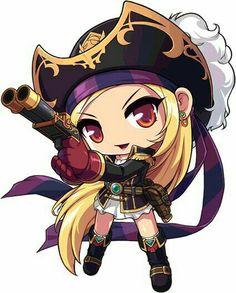 Chibi Pirate Girl