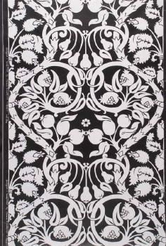 'Fruit Vine', 1976-77. One of seven offcuts of Florence Broadhurst Wallpapers purchased in 1976-77 by an architect, some of which were to be used in his house in Croydon, Sydney. Caroline Simpson Library & Research Collection.