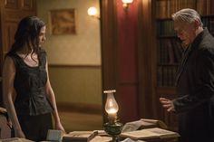 Eva Green as Miss Vanessa Ives/ Wes Studi as Kaetenay in Penny Dreadful Season 3 ep: Ebb Tide.