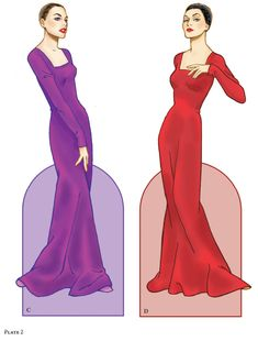 Evil Queens and Wicked Witches Paper Dolls: Dover Publications Sample 2 of 6