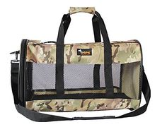 Ondoing Pet Travel Carrier Soft Sided Airline Approved Under Seat Travel Tote Bag for Cats Small Dogs Fleece Mat -- You can get additional details at the image link. (This is an affiliate link and I receive a commission for the sales)