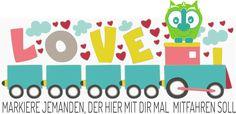 Der Lovetrain -> auch in Deiner Stadt.. steig ein!