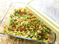 This Mexican cactus salad recipe is absolutely delicious, refreshing and goes great on a corn tortilla topped with some queso fresco and avocado. Cactus Salad, Mexican Food Recipes, Ethnic Recipes, Corn Tortillas, Orange Recipes, Orange County, Salad Recipes, Avocado, Salads