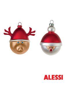 Christmas Baubles, LPKW Marcello Jori 2014 #alessi #design