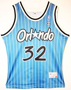 Champion NBA Basketball Orlando Magic #32 Shaquille O'Neal Trikot/Jersey Size 36 - Größe S - 69,90€ #nba #basketball #trikot #jersey #ebay #etsy #hood #sport #fitness #fanartikel #merchandise #usa #america #fashion #mode #collectable #memorabilia #allbigeverything