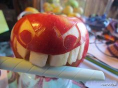 I Am Allergic To Apples, So I Use Them Like This , Just for fun !!!
