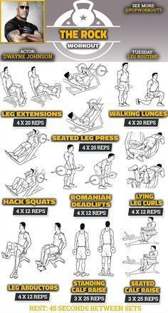 Fitness Motivation : Description The Rock Legs Workout Routine for Baywatch and – madame.tn/… Fitness Motivation : Description The Rock Legs Workout Routine for Baywatch and – madame. Fitness Workouts, Pop Workouts, Chest Workouts, At Home Workouts, Fitness Tips, Fitness Motivation, Workout Exercises, Leg Workouts For Men, Workout Tips