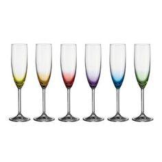 Flute Champagne, Design3000, Shops, Cocktails, Porcelain, Tableware, Glass, Party, Colors