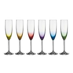 Leonardo 6er Set Sektglas Daily Colours farbige Design-Gläser: http://cocktail-glaeser.de/set/leonardo-6er-set-sektglas-daily-colours-farbige-design-glaser/