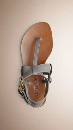 28bf48cadaed1 Buckle Detail Leather Sandals